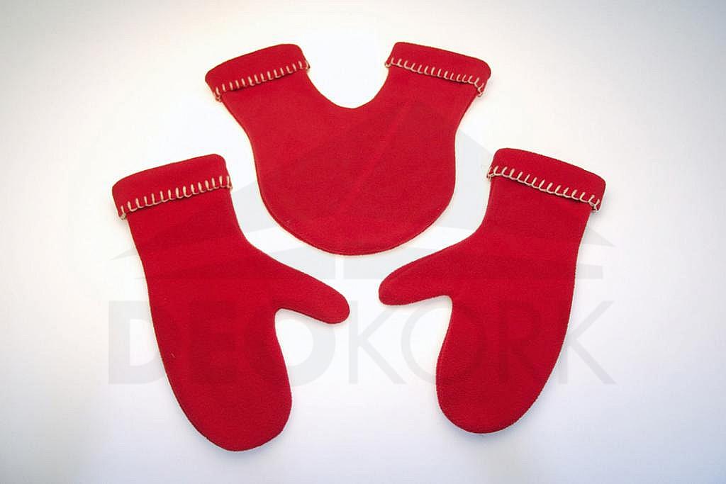Rukavice pre zaľúbených RADIUS DESIGN (GLOVERS rot 507E) červené ... 52e8b2c2a8b
