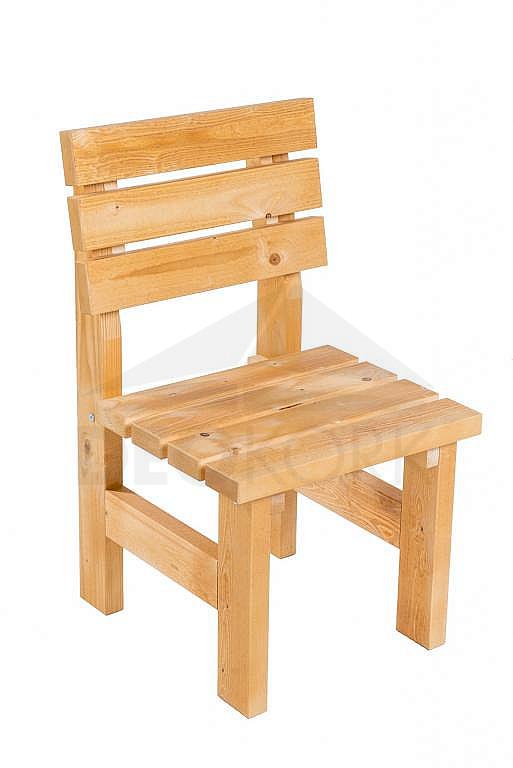 Masívne drevené záhradne kreslo TEA 01 hrúbka 38 mm