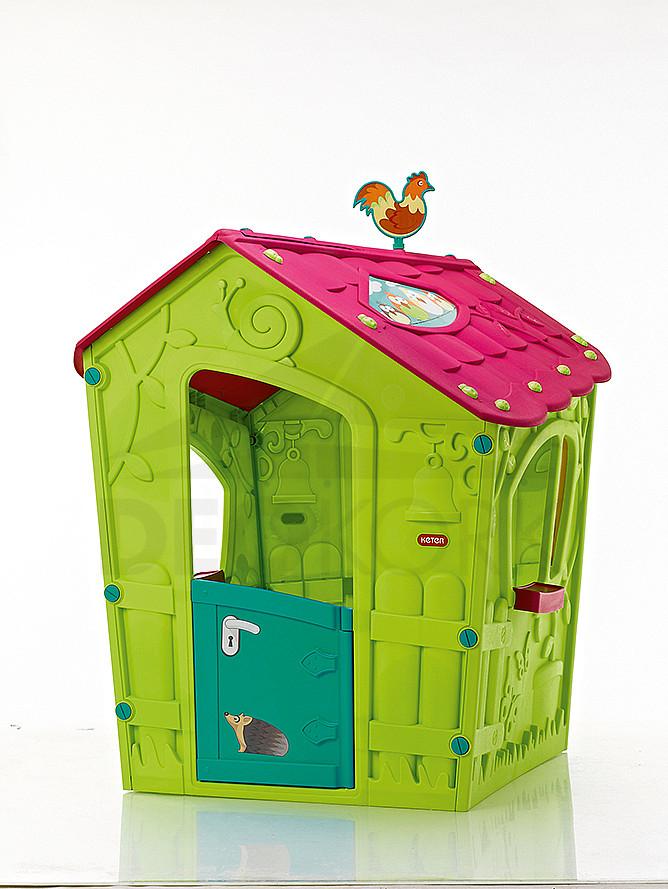 Detský domček MAGIC (fialovo-zelená)