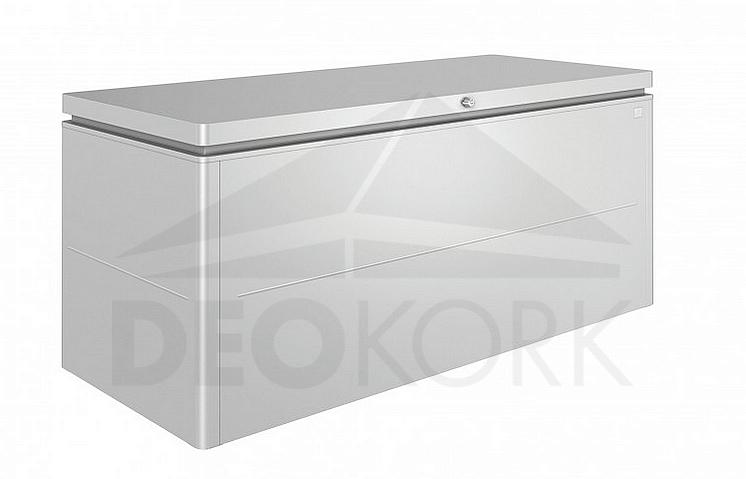 cbebe1d67e8e Designový účelový box LoungeBox (strieborná metalíza)