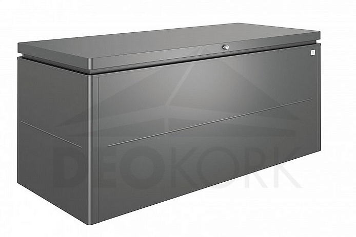 4751e7148e02 Designový účelový box LoungeBox (tmavo sivá metalíza)
