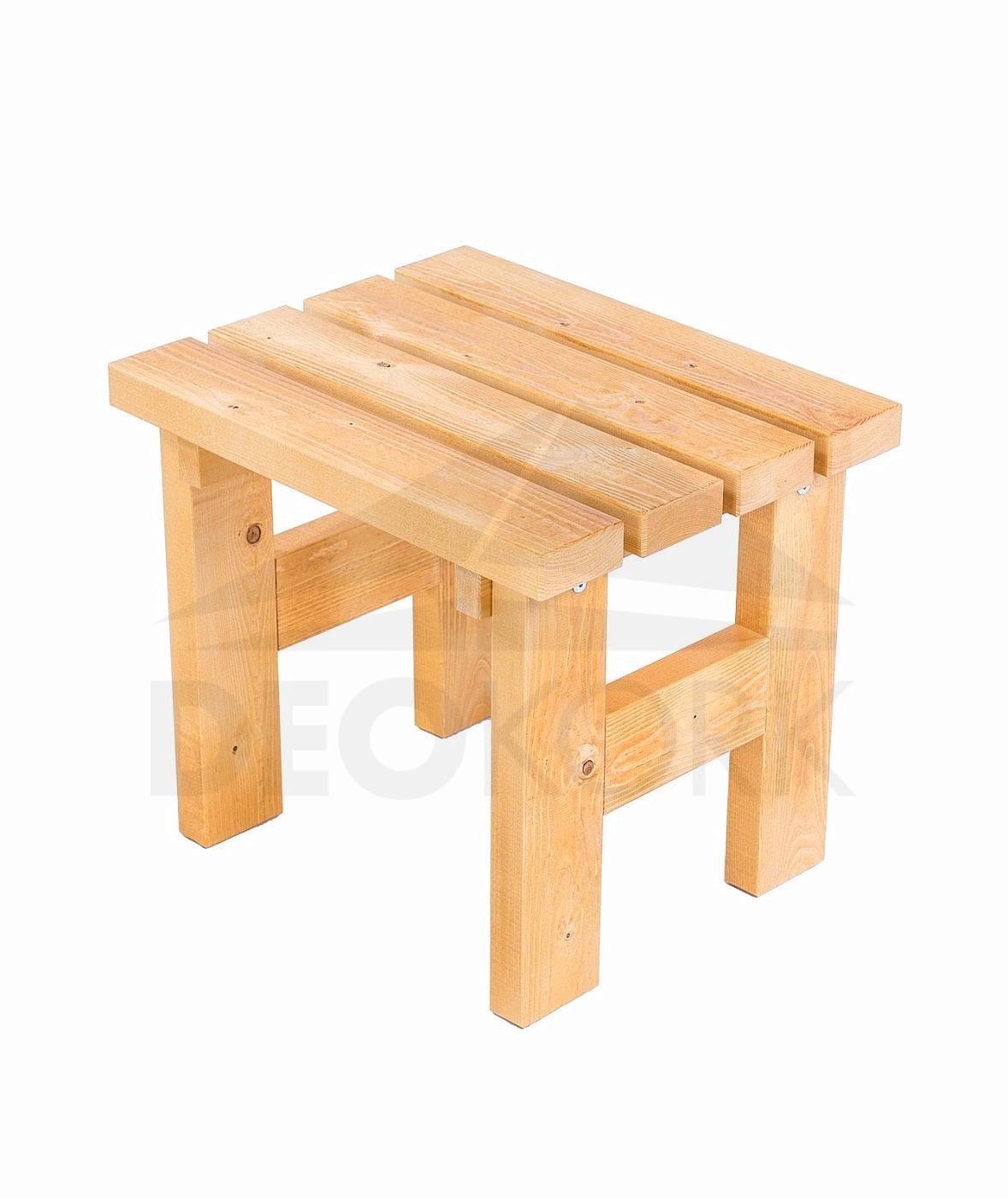 Masívna drevená záhradna stolička TEA 03 hrúbka 38 mm