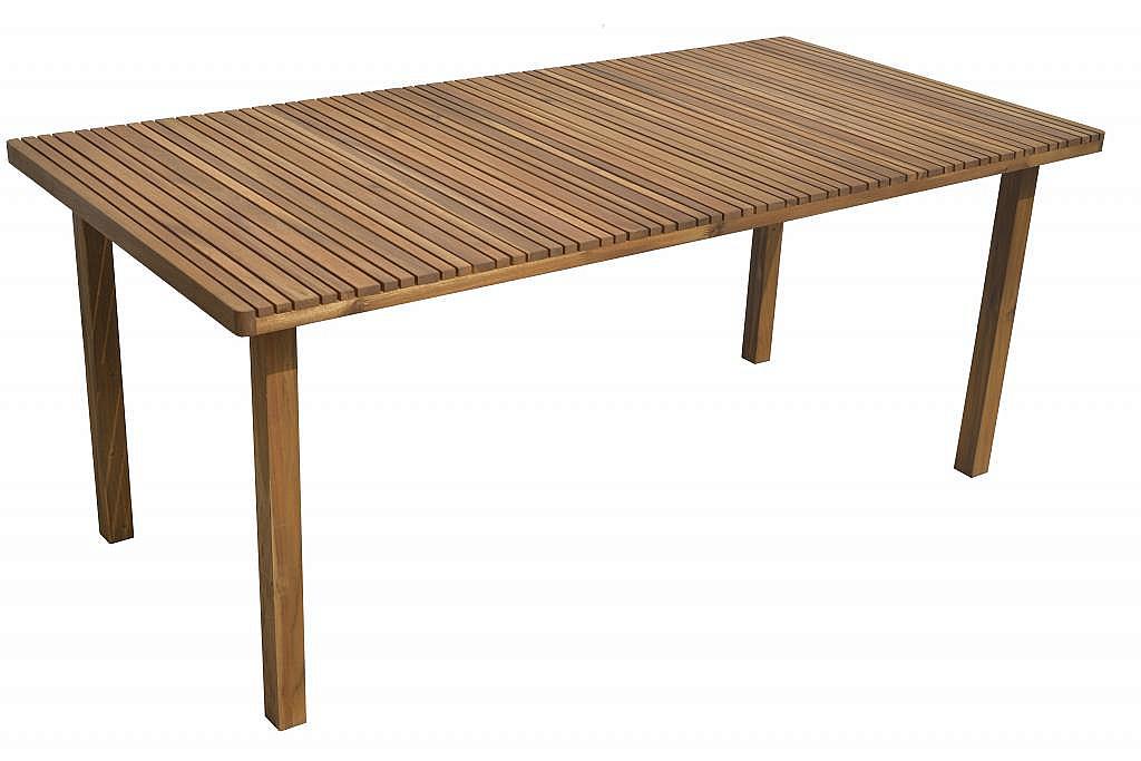 DEOKORK VÝPREDAJ Záhradný stôl obdĺžnikový LEEDS