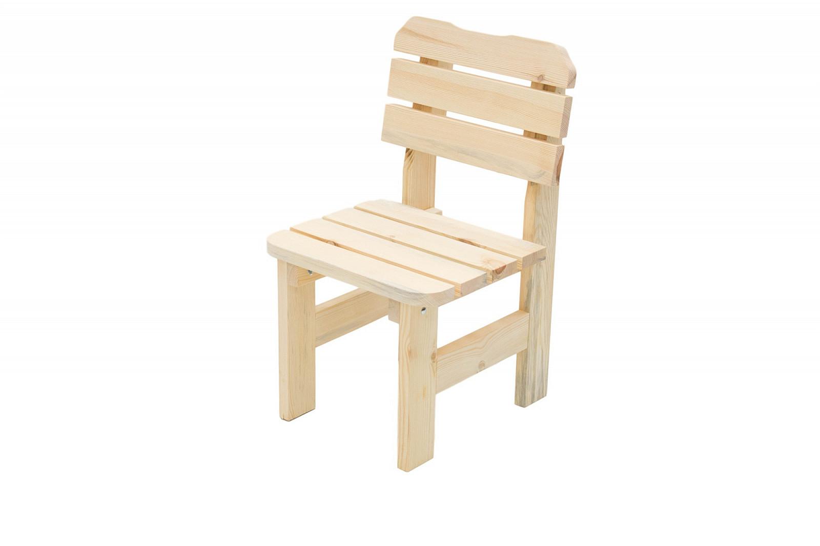 DEOKORK Masívne drevené záhradné kreslo z borovice drevo 32 mm