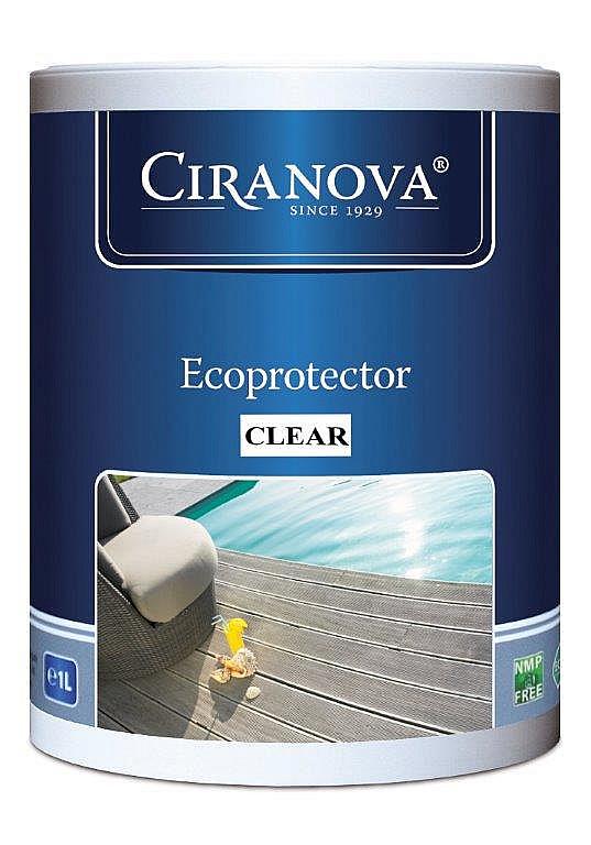 Ochranný prostriedok Ciranova - ECOPROTECTOR CLEAR teakový olej 1 l