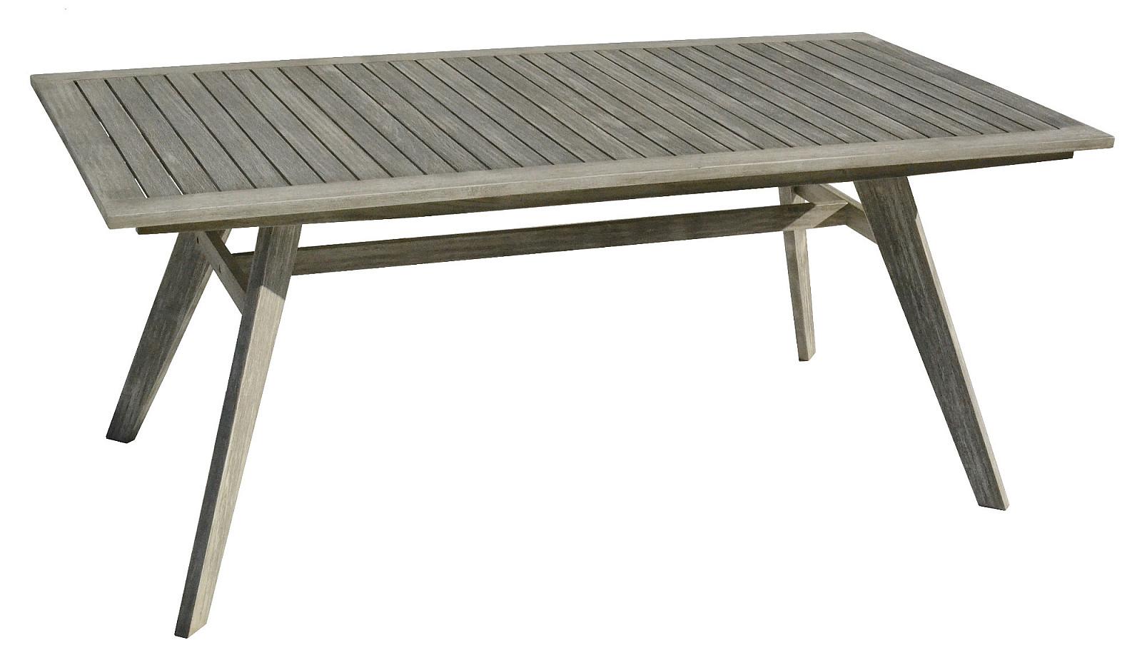 DEOKORK VÝPREDAJ Záhradný stôl pevný MONTANA 180 x 90 cm
