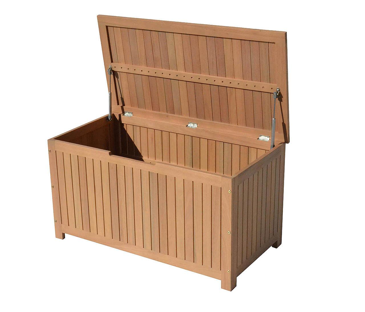 DEOKORK Box na podušky na záhradný nábytok CALIFORNIA