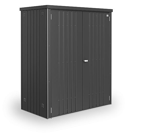 Biohort Skriňa na náradie Biohort vel. 150 155 x 83 (tmavo sivá metalíza) 150 cm (2 krabice)