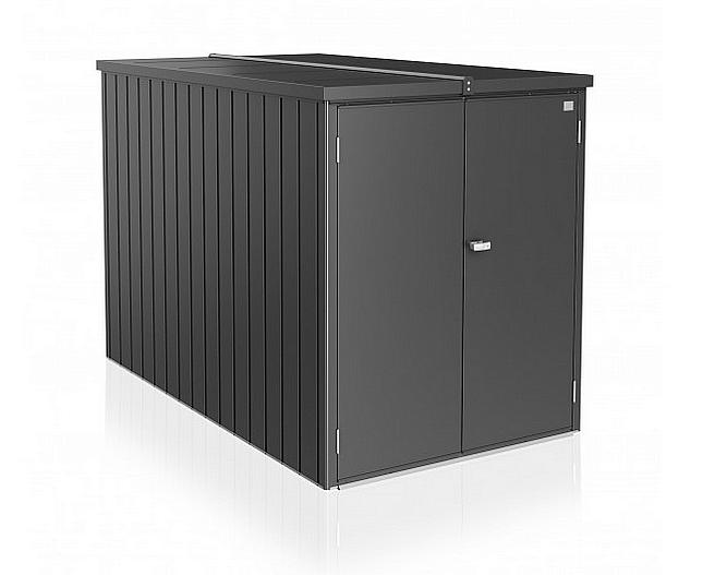 Biohort Multifunkčný úložný priestovoý box Minigaráž (tmavo sivá metalíza) Minigaráž (3 krabice)