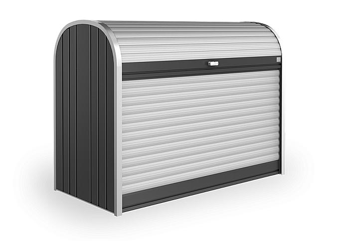 Biohort Mnohostranný účelový roletový box StoreMax vel. 160 163 x 78 x 120 (tmavo sivá metalíza)