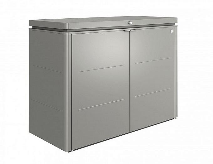 Biohort Multiúčelový úložný box HighBoard 160 x 70 x 118 (sivý kremeň metalíza) 160 cm (3 krabice)