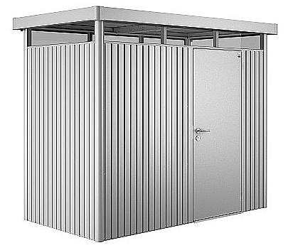 Biohort Záhradný domček BIOHORT HighLine H1 275 x 155 (strieborná metalíza)