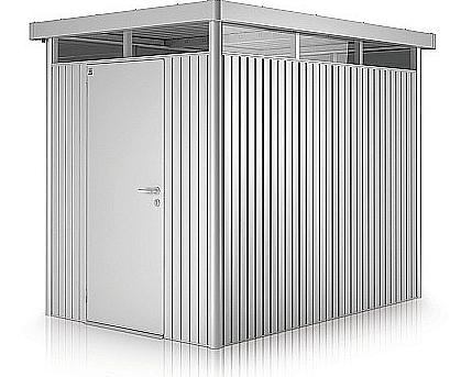 Biohort Záhradný domček BIOHORT HighLine H2 275 x 195 (strieborná metalíza)