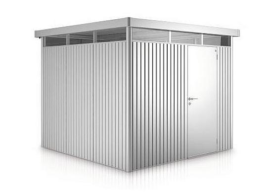 Biohort Záhradný domček BIOHORT HighLine H3 275 x 235 (strieborná metalíza)