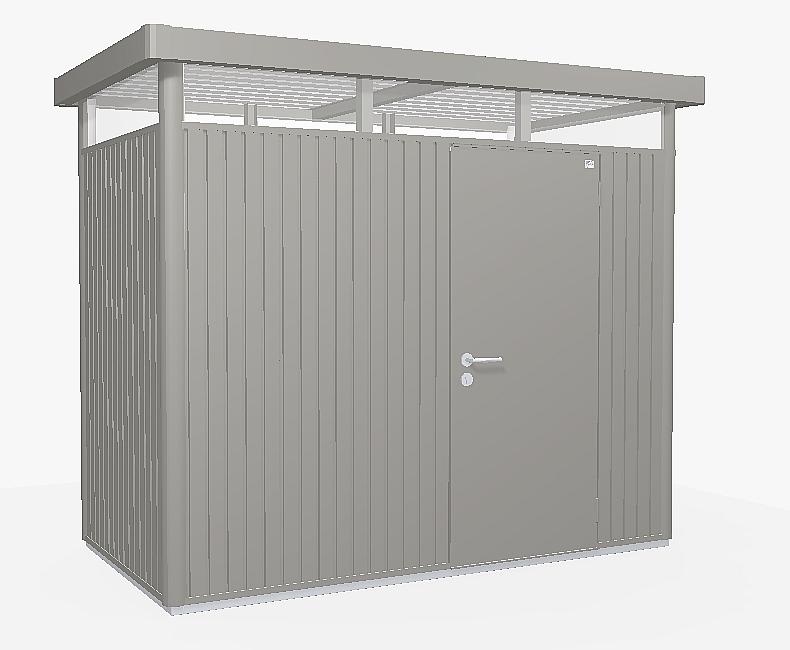 Biohort Záhradný domček BIOHORT HighLine H1 275 x 155 (sivý kremen metalíza)