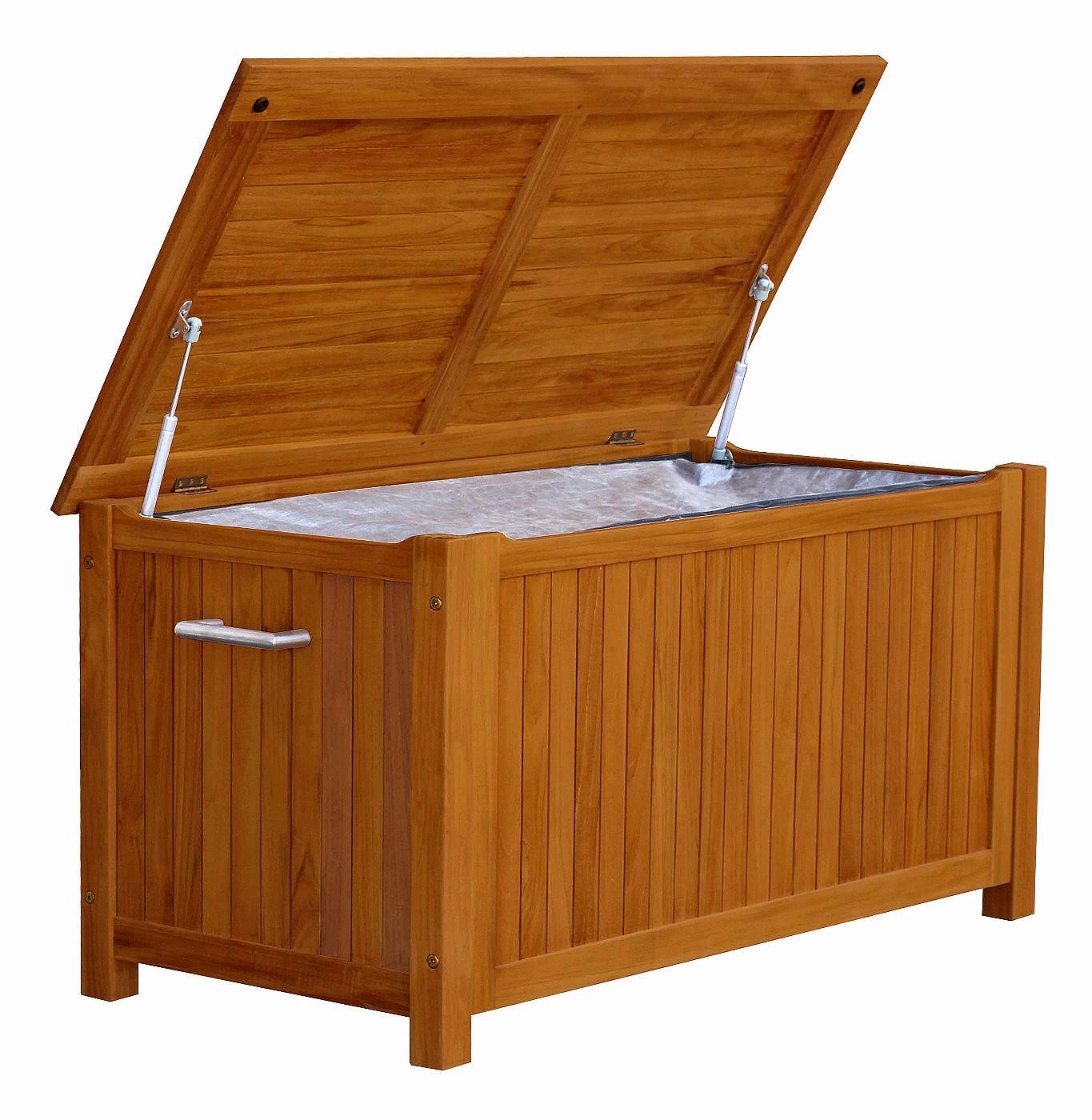 DEOKORK Box na podušky na záhradný nábytok LOUIS