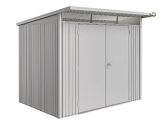 Biohort Záhradný domček BIOHORT AvantGarde DUO A5 260 x 220 x 218 (strieborná metalíza)
