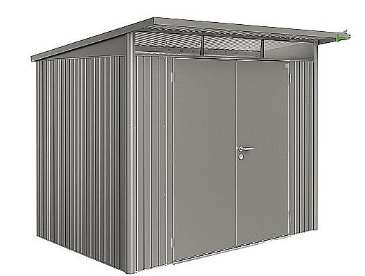 Biohort Záhradný domček BIOHORT AvantGarde DUO A5 260 x 220 x 218 (sivý kremen metalíza)