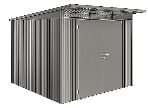 Biohort Záhradný domček BIOHORT AvantGarde DUO A7 260 x 300 x 217 (sivý kremen metalíza)