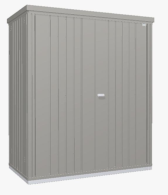 Biohort Skriňa na náradie Biohort vel. 150 155 x 83 (sivý kremeň metalíza) 150 cm (2 krabice)