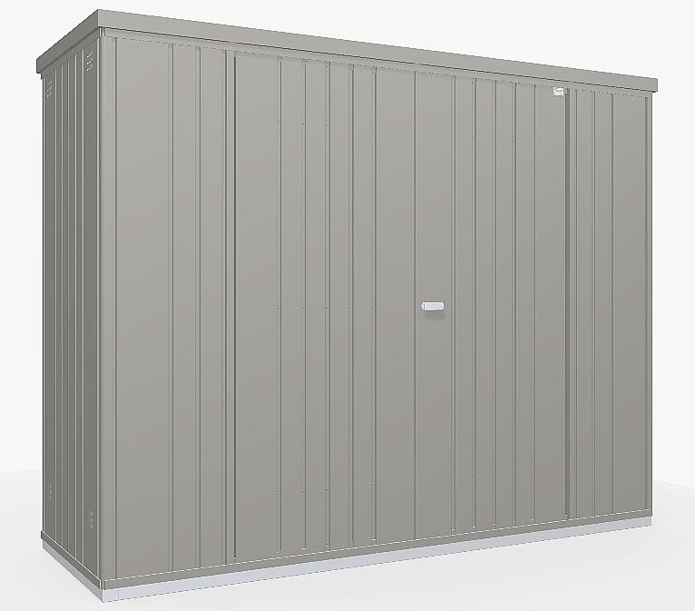 Biohort Skriňa na náradie Biohort vel. 230 227 x 83 (sivý kremeň metalíza) 230 cm (2 krabice)