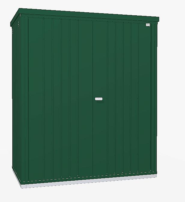 Biohort Skriňa na náradie Biohort vel. 150 155 x 83 (tmavo zelená) 150 cm (2 krabice)