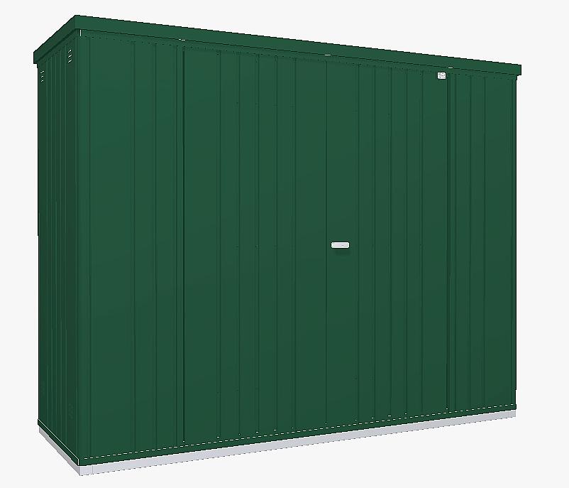 Biohort Skriňa na náradie Biohort vel. 230 227 x 83 (tmavo zelená) 230 cm (2 krabice)