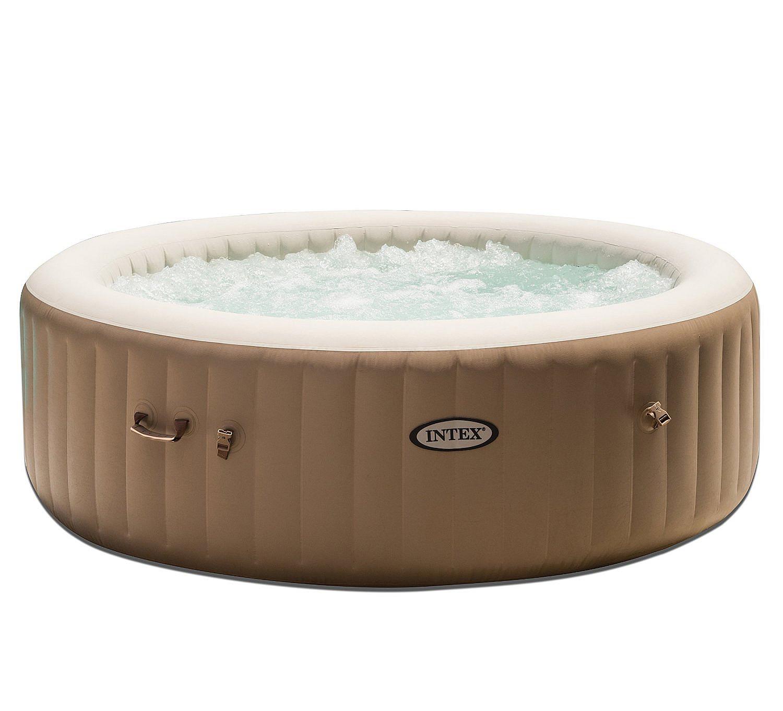 INTEX Nafukovacia vírivka Pure spa pre 4 osoby (bublinky + masáž) 800L