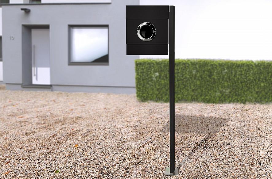 Radius design cologne Schránka na listy RADIUS DESIGN (LETTERMANN 2 black 564F) čierná