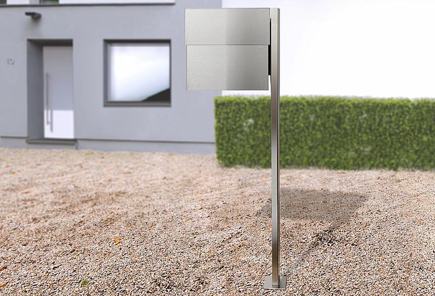Radius design cologne Schránka na listy RADIUS DESIGN (LETTERMANN XXL 2 stainless steel 568) nerez