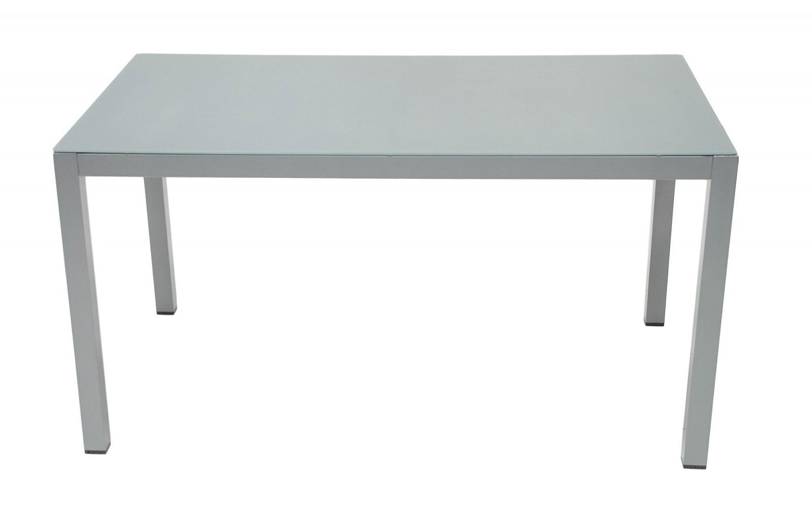 Hliníkový jedálenský stôl 140 x 80 cm GRENADA