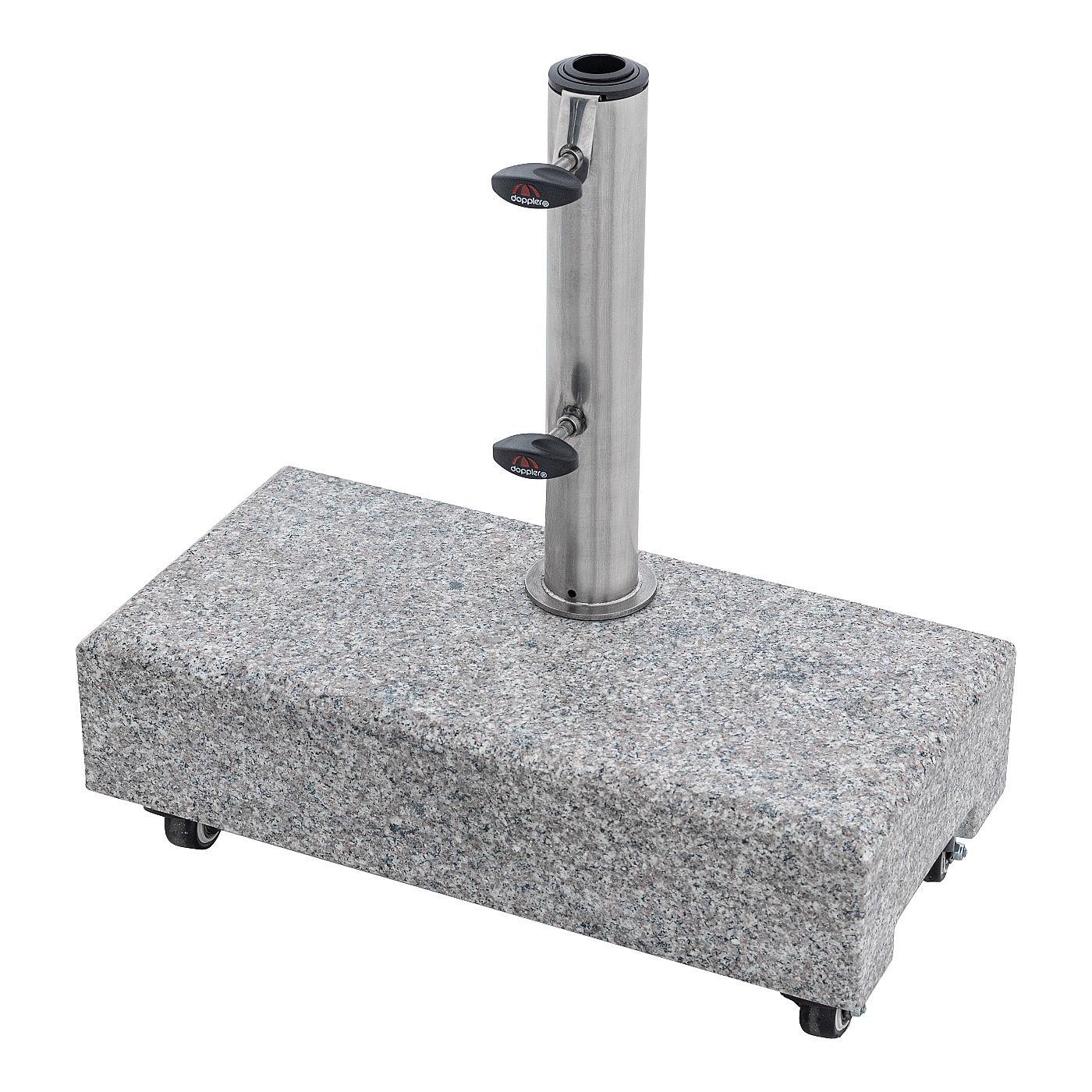DOPPLER Doppler Žulový stojan s úchytom a kolieskami (25 kg)