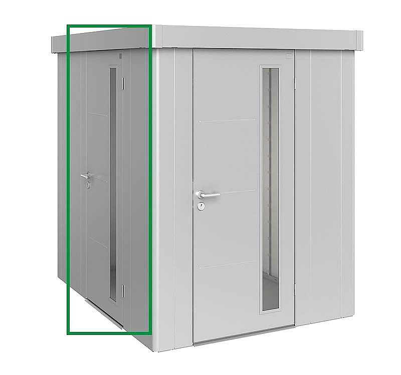 Biohort Dodatočné dvere k domčeku Biohort NEO (Strieborná metalíza)