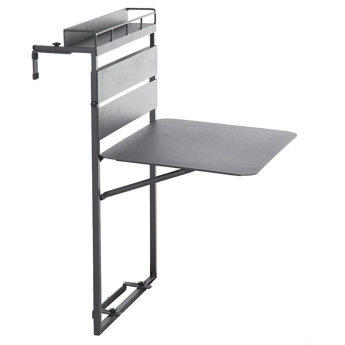Hliníkový balkónový stolík FIESTA II.