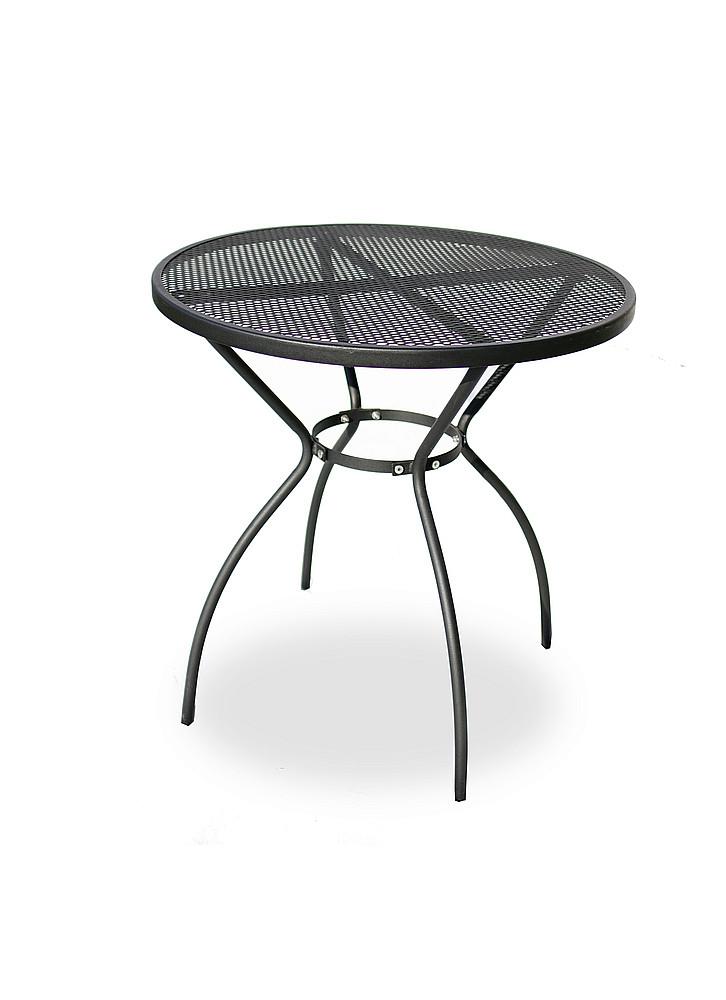 DEOKORK Kovový stôl STEEL (ø70 cm)