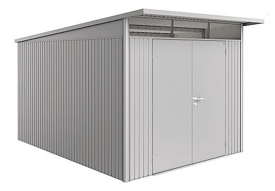 Biohort Záhradný domček BIOHORT AvantGarde DUO A8 260 x 380 x 222 (strieborná metalíza)