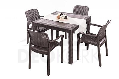 e7b4858005e79 Plastový záhradný nábytok - ľahký a lacný | Zahradný nábytok