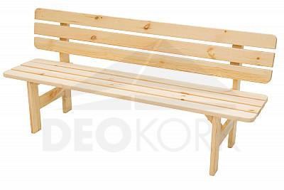 0ac7c9d20fe0 Masívna lavica z borovice drevo 30 mm (rôzne dĺžky)