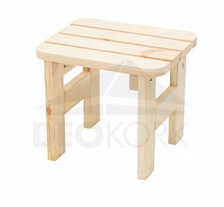 2ee6b4644c2f Masívna drevená záhradná stolička z borovice drevo 32 mm